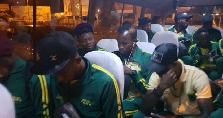 V. Club pose ses valises à Dar Es Salaam